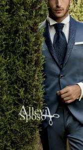 smokin-rever-damascato-bluette-sposo-cerimonia